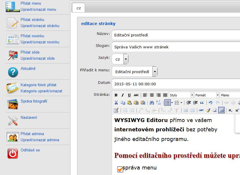 editace